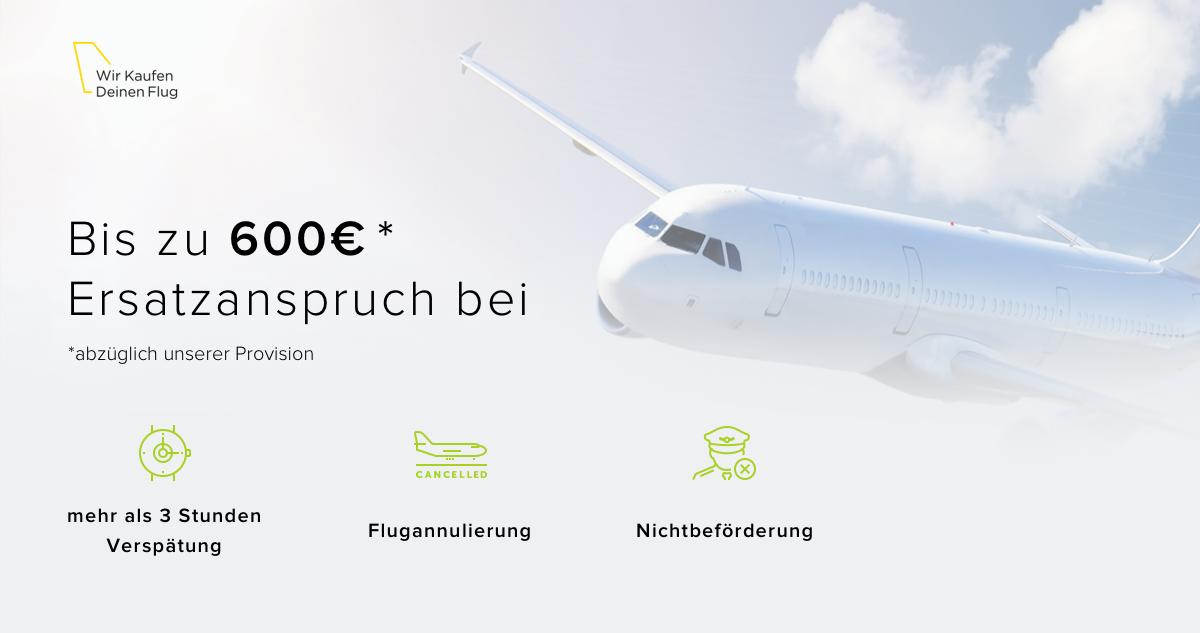 Wir Kaufen Deinen Flug Schnelle Entschädigung Bei Flugverspätung